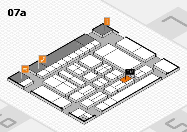 drupa 2016 hall map (Hall 7a): stand C13
