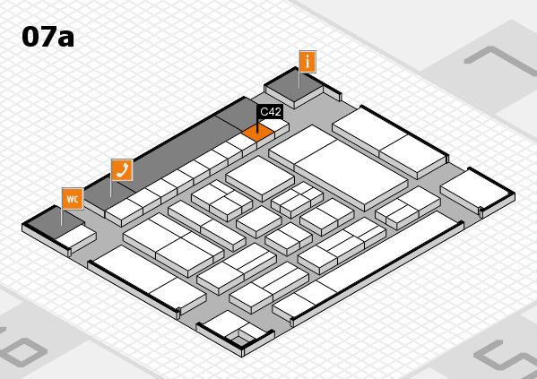 drupa 2016 hall map (Hall 7a): stand C42