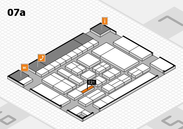 drupa 2016 Hallenplan (Halle 7a): Stand E21
