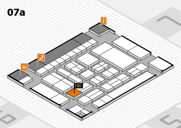 drupa 2016 hall map (Hall 7a): stand F20