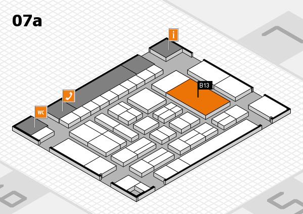 drupa 2016 hall map (Hall 7a): stand B13