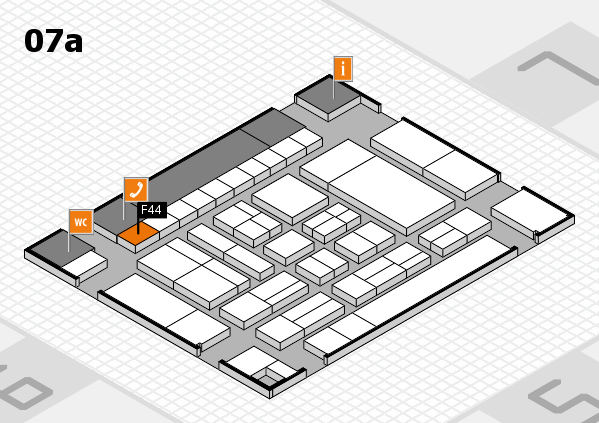 drupa 2016 hall map (Hall 7a): stand F44