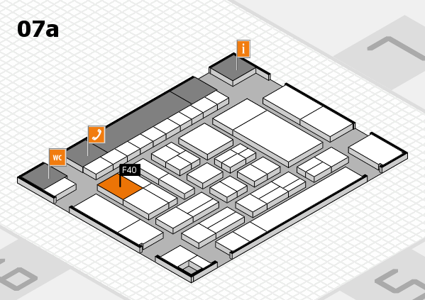 drupa 2016 hall map (Hall 7a): stand F40