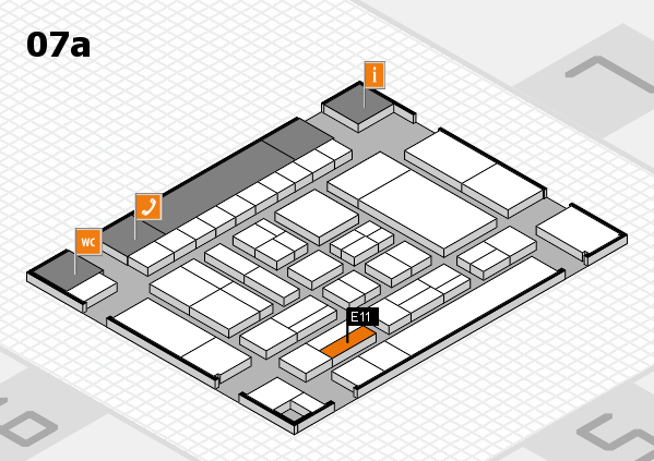 drupa 2016 Hallenplan (Halle 7a): Stand E11