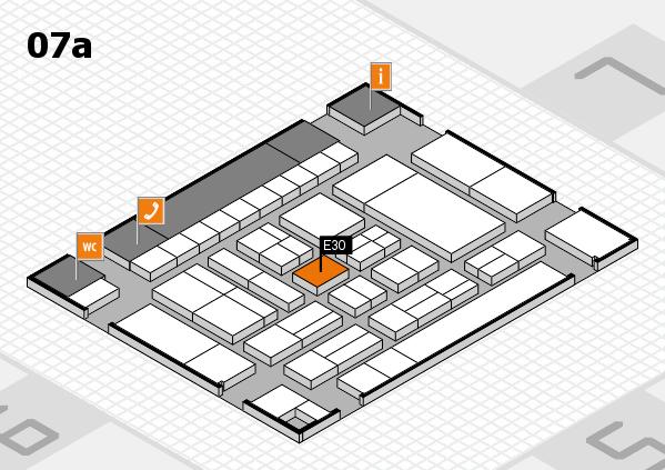 drupa 2016 Hallenplan (Halle 7a): Stand E30