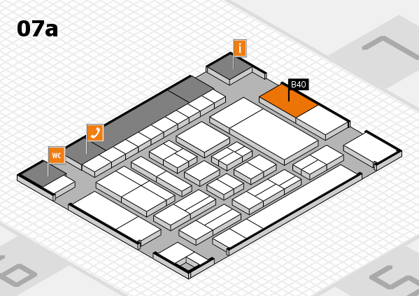 drupa 2016 hall map (Hall 7a): stand B40