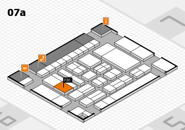 drupa 2016 Hallenplan (Halle 7a): Stand F30