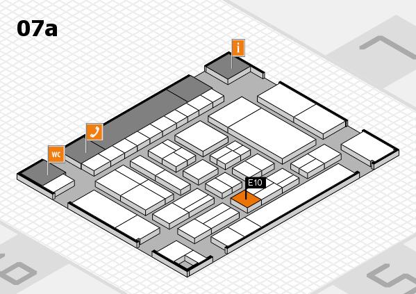 drupa 2016 Hallenplan (Halle 7a): Stand E10