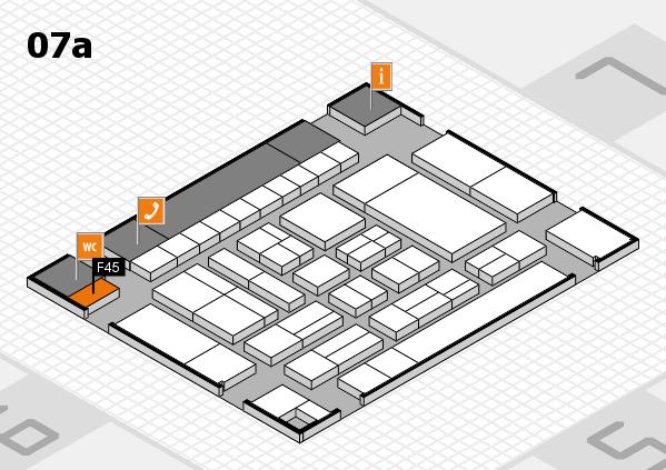 drupa 2016 Hallenplan (Halle 7a): Stand F45