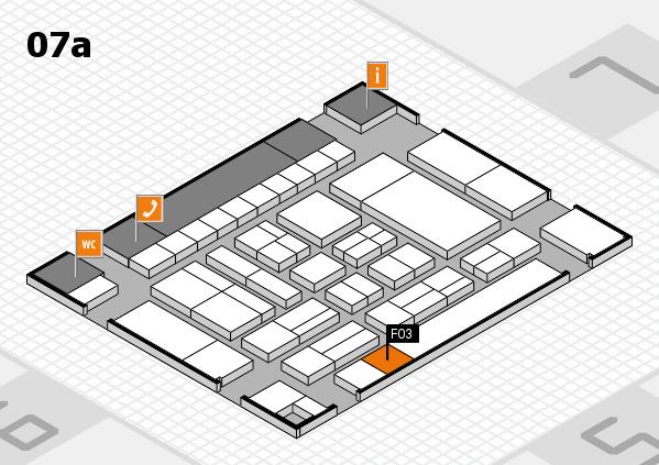 drupa 2016 Hallenplan (Halle 7a): Stand F03