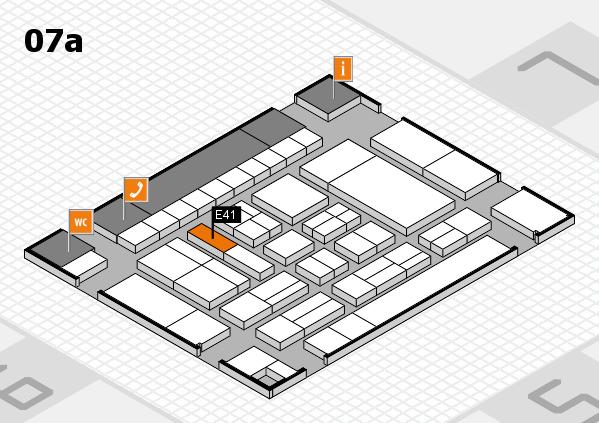 drupa 2016 hall map (Hall 7a): stand E41