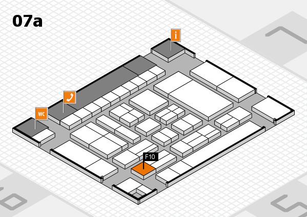 drupa 2016 hall map (Hall 7a): stand F10
