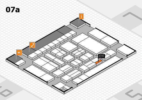 drupa 2016 hall map (Hall 7a): stand C11