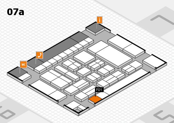 drupa 2016 Hallenplan (Halle 7a): Stand F01