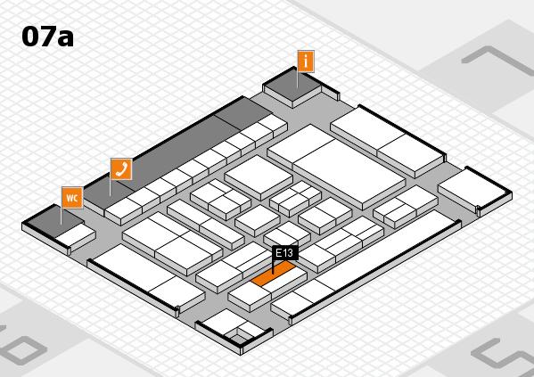 drupa 2016 hall map (Hall 7a): stand E13
