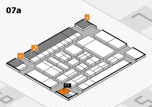 drupa 2016 Hallenplan (Halle 7a): Stand F11