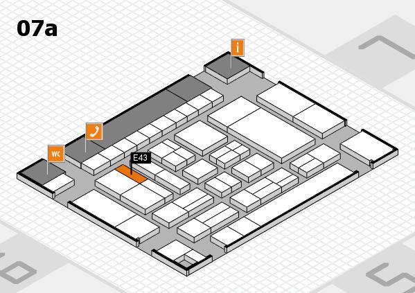 drupa 2016 hall map (Hall 7a): stand E43
