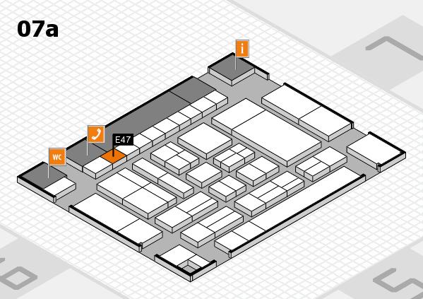 drupa 2016 Hallenplan (Halle 7a): Stand E47