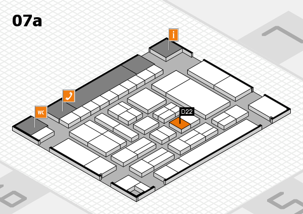 drupa 2016 hall map (Hall 7a): stand D22