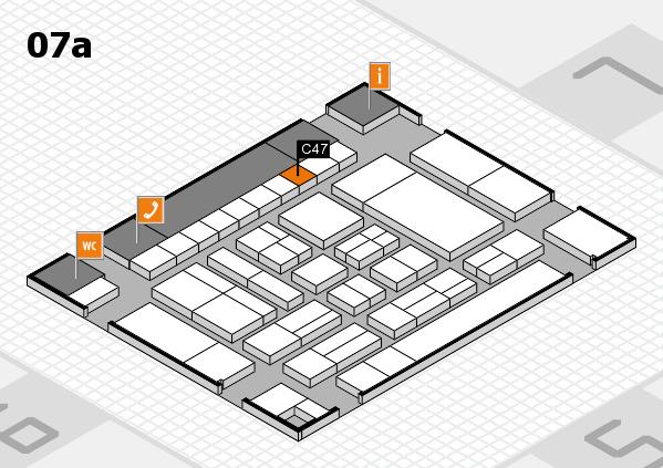 drupa 2016 hall map (Hall 7a): stand C47