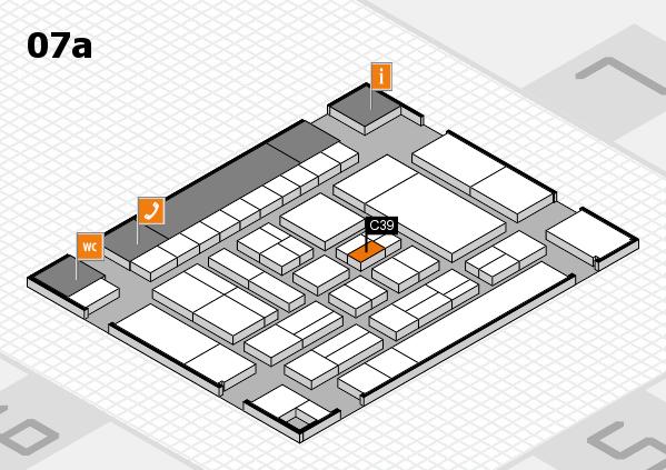 drupa 2016 Hallenplan (Halle 7a): Stand C39