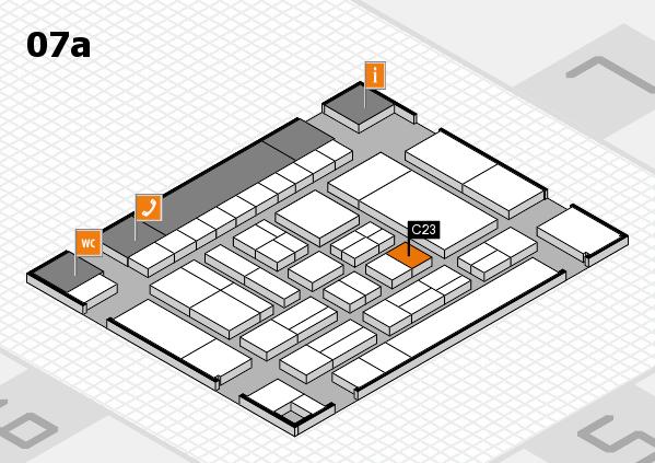 drupa 2016 Hallenplan (Halle 7a): Stand C23