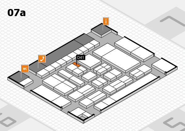 drupa 2016 Hallenplan (Halle 7a): Stand D41