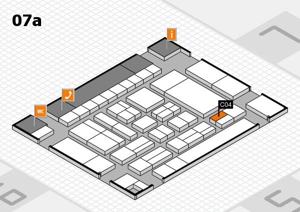 drupa 2016 Hallenplan (Halle 7a): Stand C04