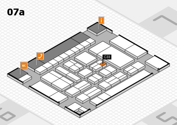drupa 2016 Hallenplan (Halle 7a): Stand C33
