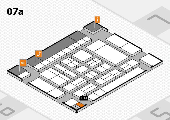 drupa 2016 Hallenplan (Halle 7a): Stand F09