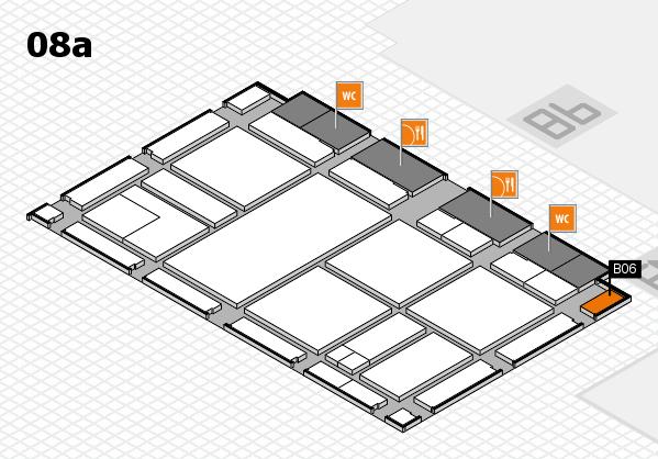 drupa 2016 hall map (Hall 8a): stand B06