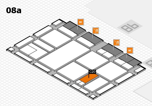 drupa 2016 Hallenplan (Halle 8a): Stand C20