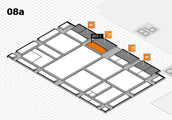 drupa 2016 Hallenplan (Halle 8a): Stand B50-1