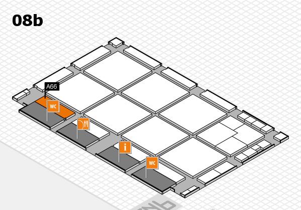 drupa 2016 hall map (Hall 8b): stand A66