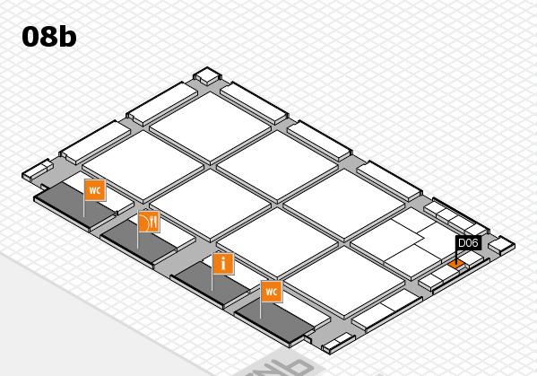 drupa 2016 hall map (Hall 8b): stand D06