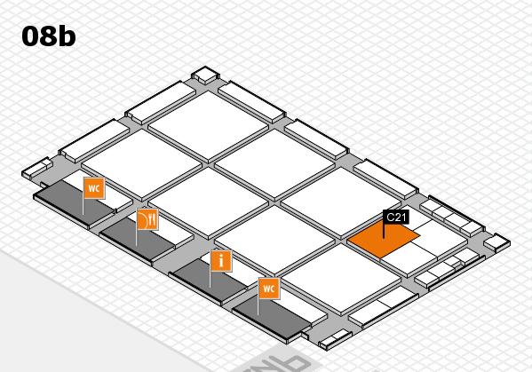 drupa 2016 hall map (Hall 8b): stand C21