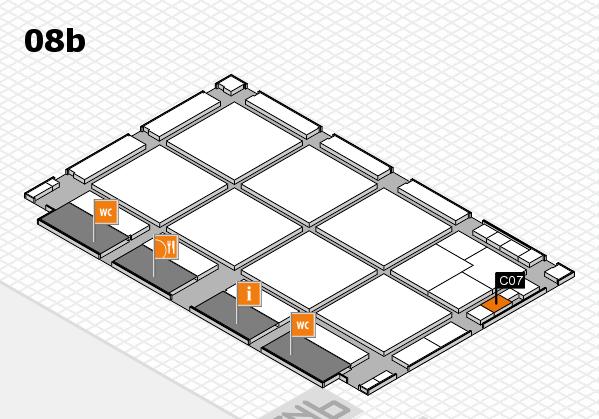 drupa 2016 hall map (Hall 8b): stand C07