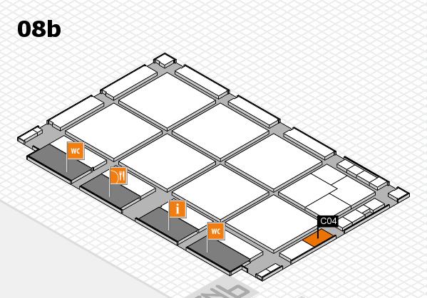 drupa 2016 hall map (Hall 8b): stand C04