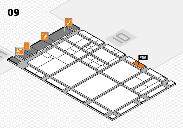 drupa 2016 hall map (Hall 9): stand E56