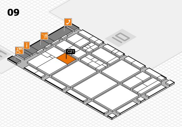 drupa 2016 hall map (Hall 9): stand C21