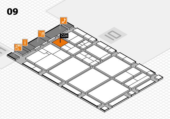 drupa 2016 hall map (Hall 9): stand C04