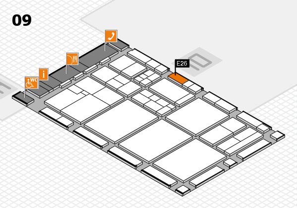 drupa 2016 hall map (Hall 9): stand E26