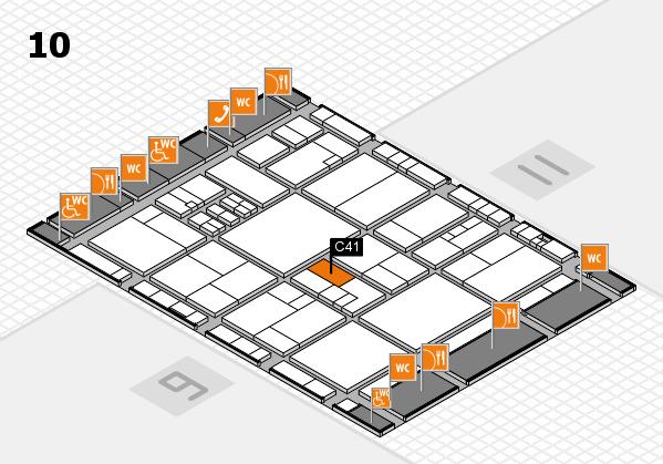drupa 2016 Hallenplan (Halle 10): Stand C41