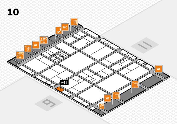 drupa 2016 Hallenplan (Halle 10): Stand A41
