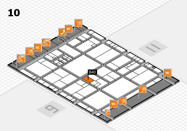 drupa 2016 Hallenplan (Halle 10): Stand B40