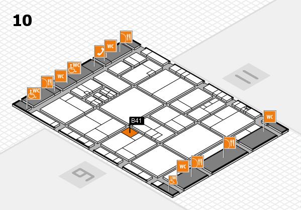 drupa 2016 hall map (Hall 10): stand B41