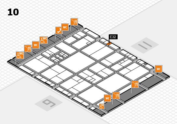 drupa 2016 hall map (Hall 10): stand E32