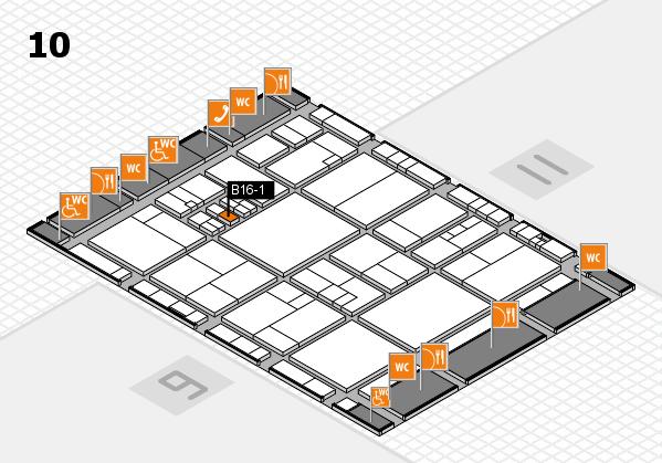 drupa 2016 hall map (Hall 10): stand B16-1