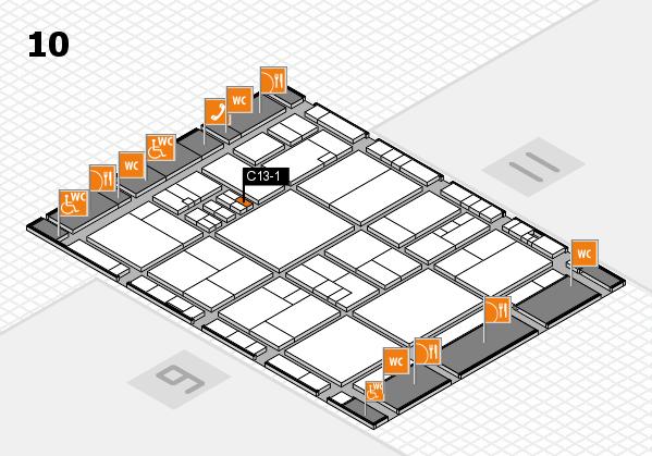drupa 2016 hall map (Hall 10): stand C13-1