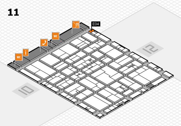 drupa 2016 Hallenplan (Halle 11): Stand E04